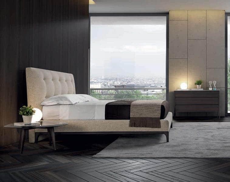מיטה זוגית מעוצבת mozart חדרי שינה conte
