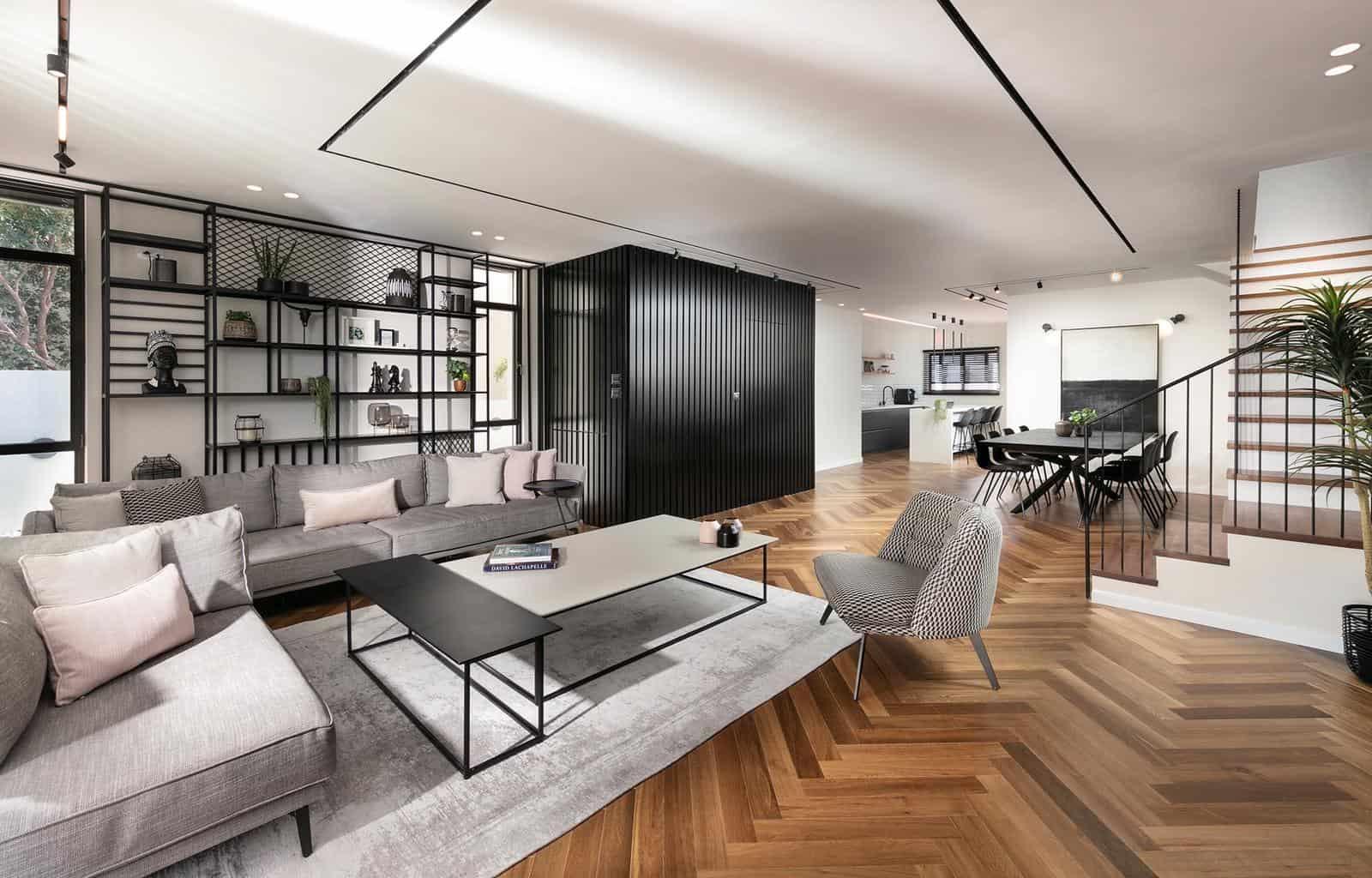 פרויקט רהיטים מעוצבים לבית